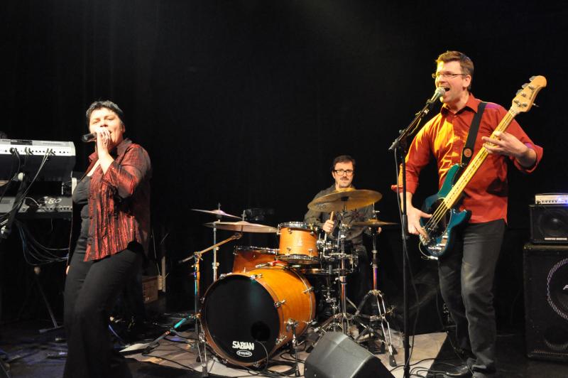 Photo du groupe de variété Vinyle Idylle by Anne Remaud